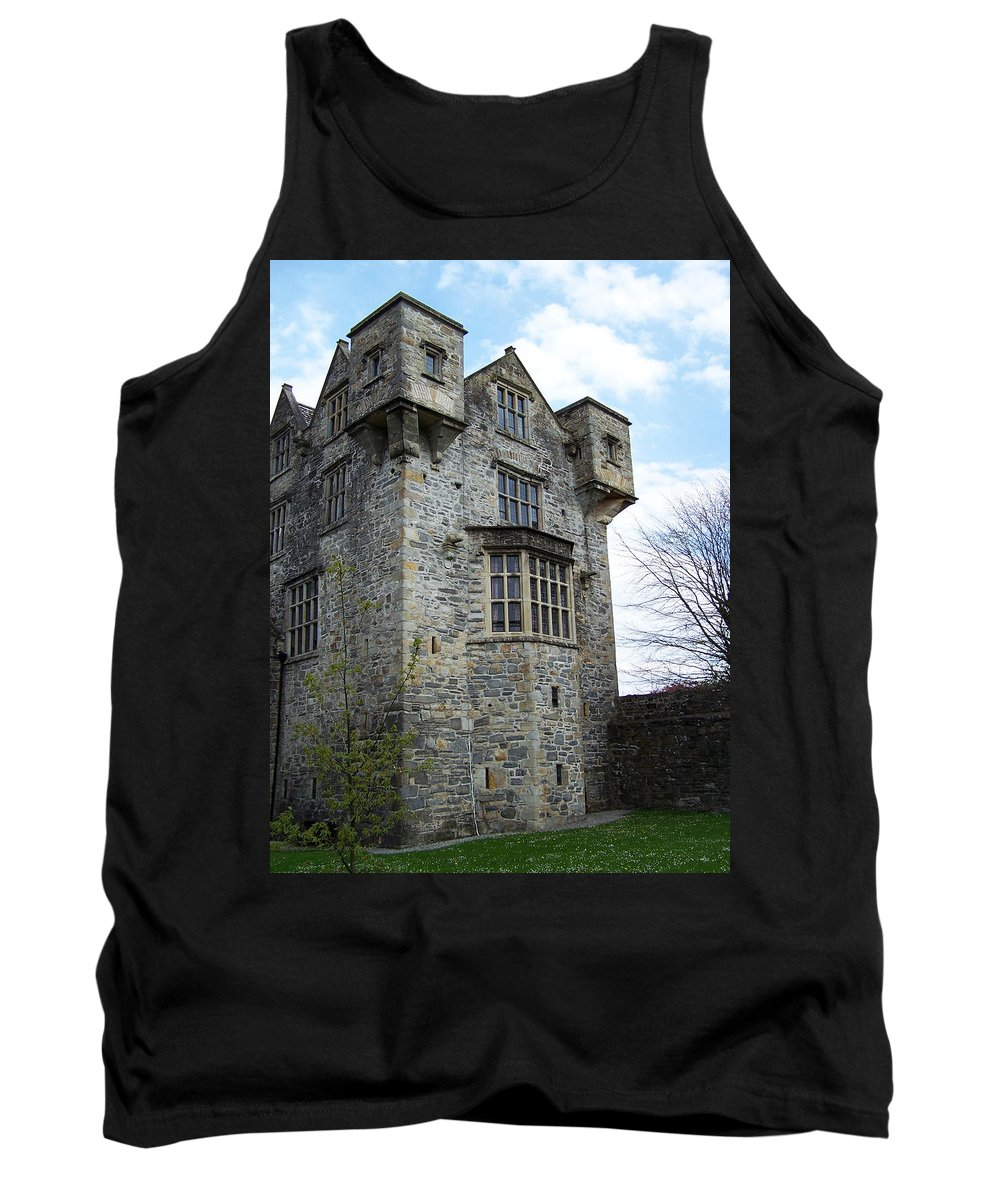 Ireland Tank Top featuring the photograph The Keep At Donegal Castle Ireland by Teresa Mucha