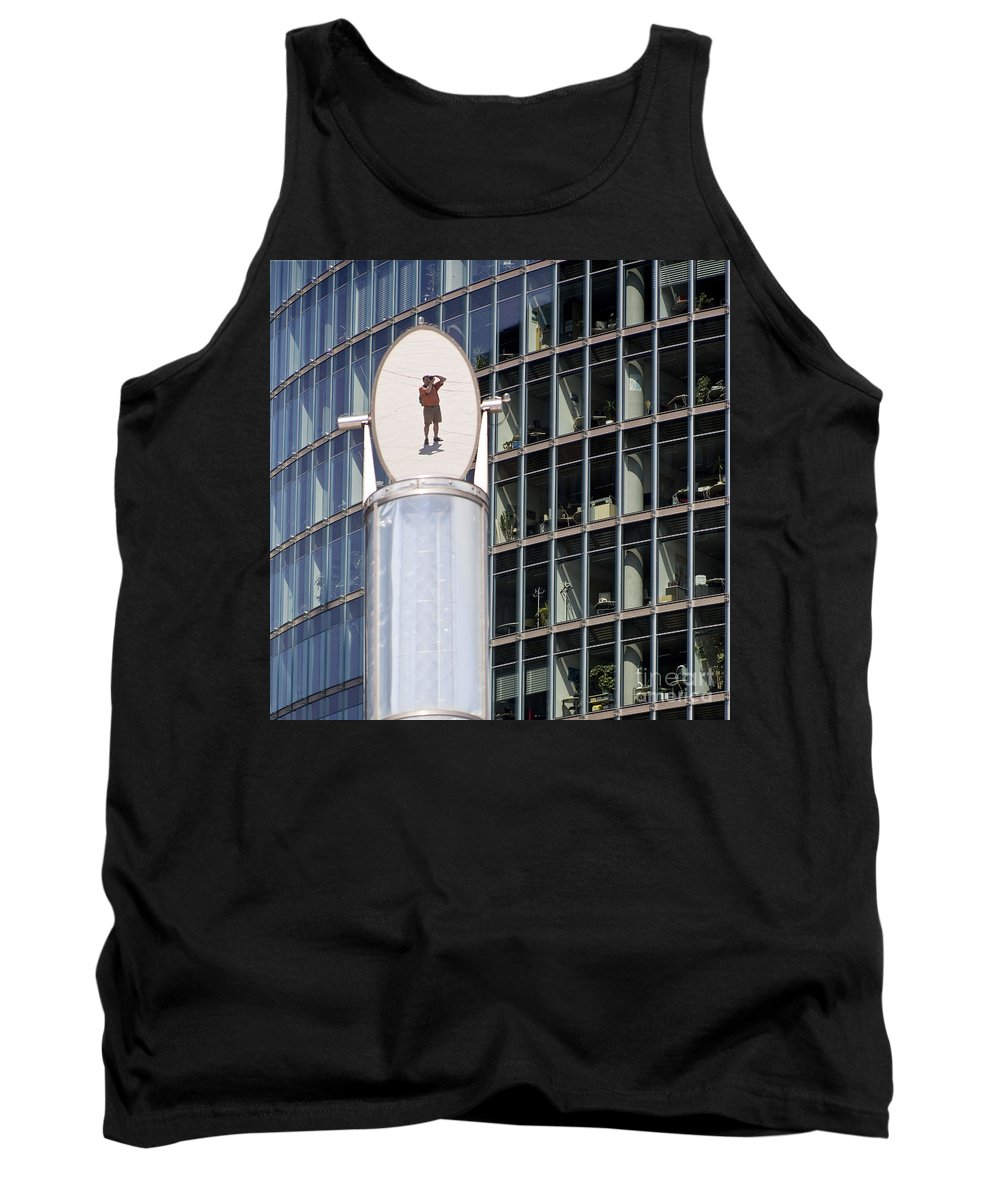 Europe Tank Top featuring the photograph The Mirror by Heiko Koehrer-Wagner