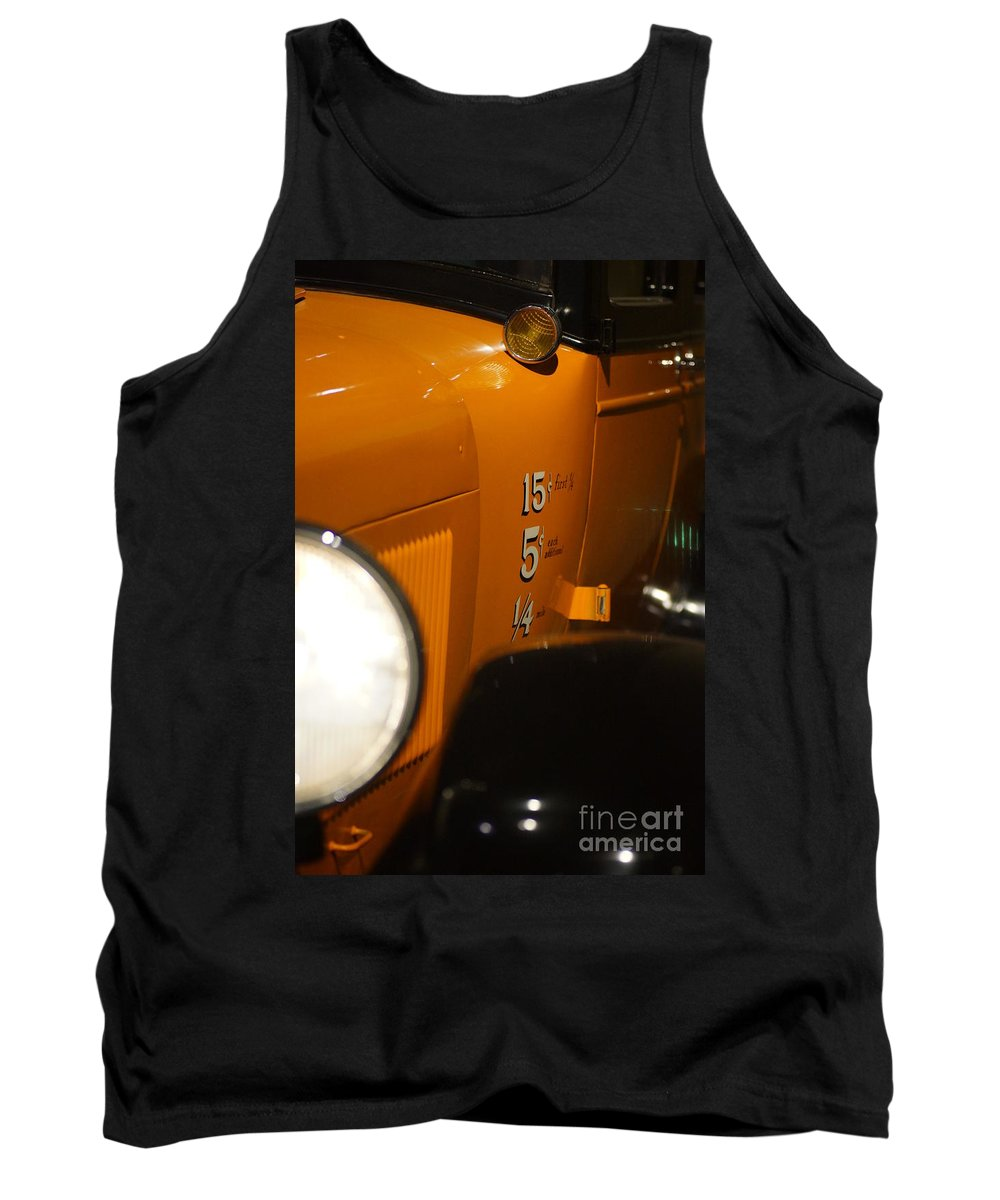 Cars Tank Top featuring the photograph The Old Days by Jeffery L Bowers