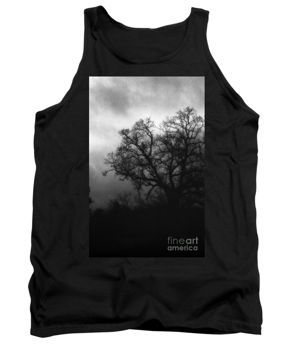 Eerie Tank Top featuring the photograph The Other Side by Richard Rizzo