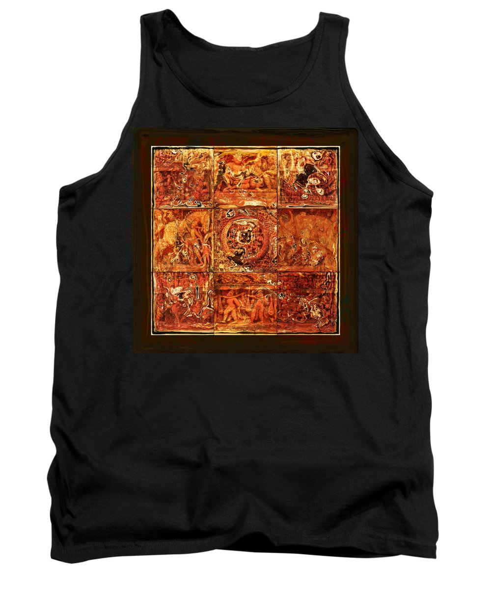 Bangladesh Tank Top featuring the digital art The Pieces Of Heritage by Rabi Khan