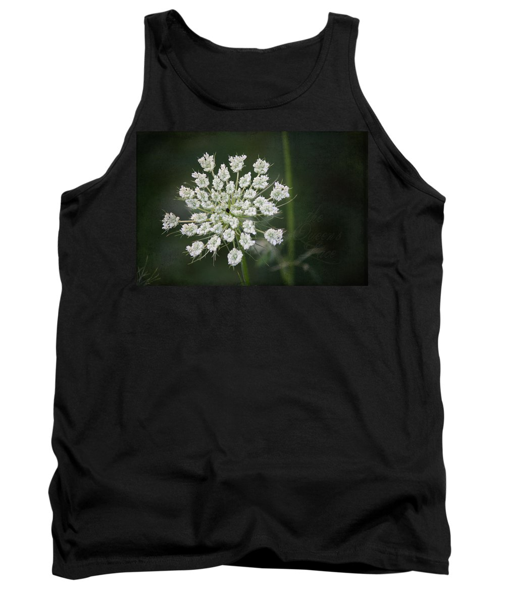 Queen Anne's Lace Tank Top featuring the photograph The Queens Lace by Teresa Mucha