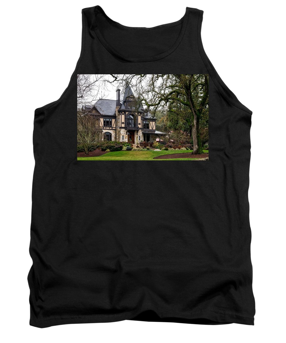 Rhine House Tank Top featuring the photograph The Rhine House Of Napa Valley by Mountain Dreams