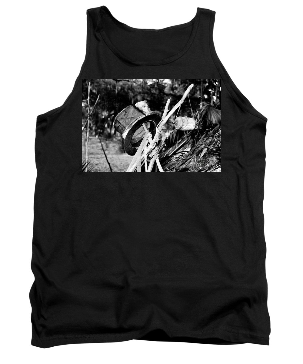 Shaman Tank Top featuring the photograph The Shaman's Hat by David Lee Thompson