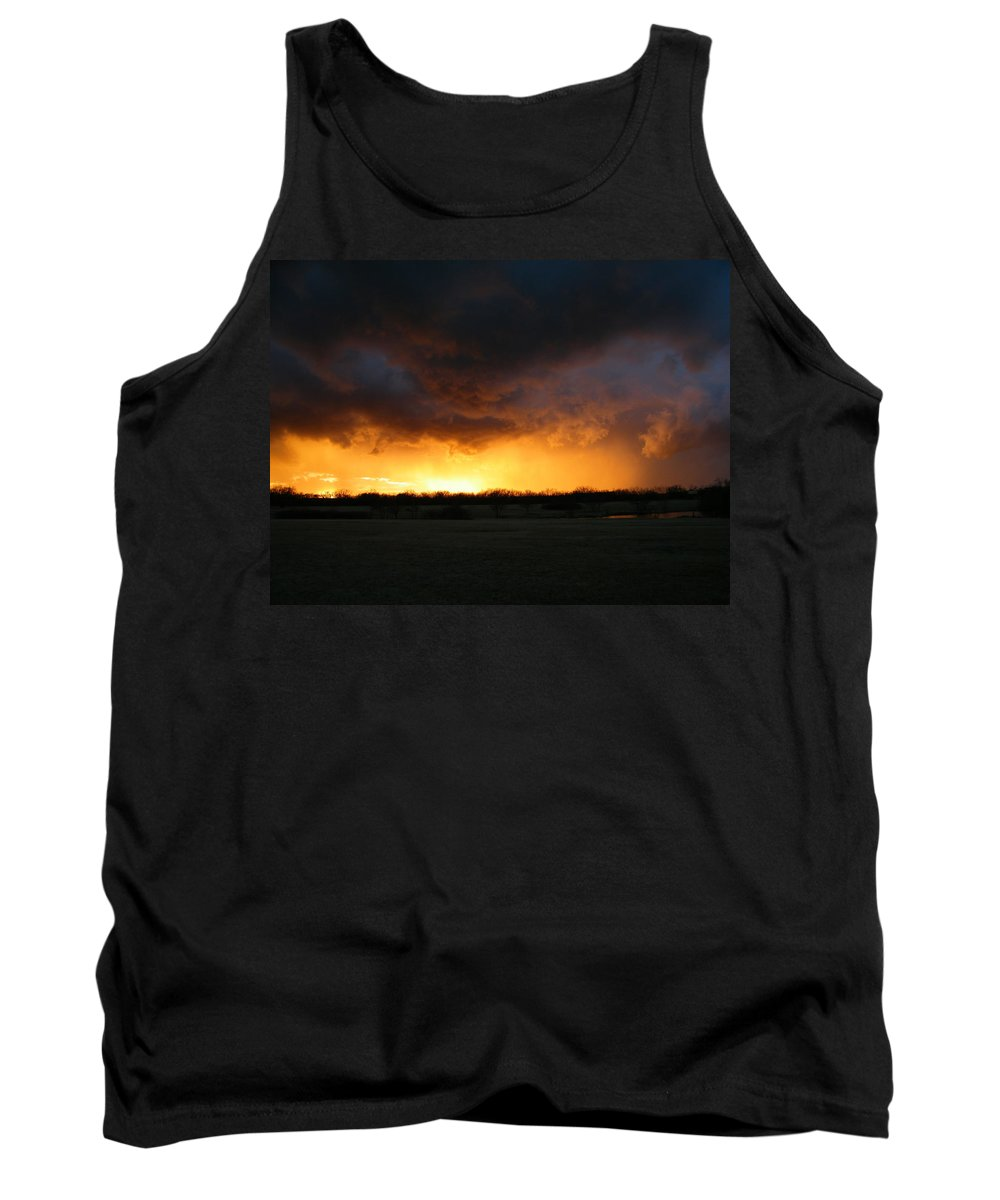 Storm Tank Top featuring the photograph The Storm by Gale Cochran-Smith
