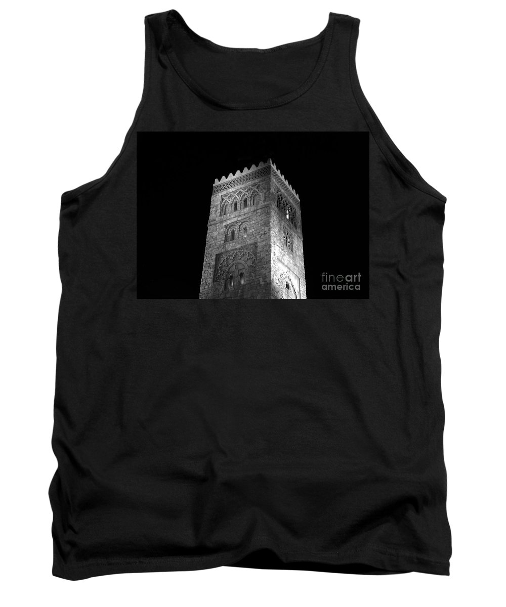 Tower Tank Top featuring the photograph The Tower by David Lee Thompson