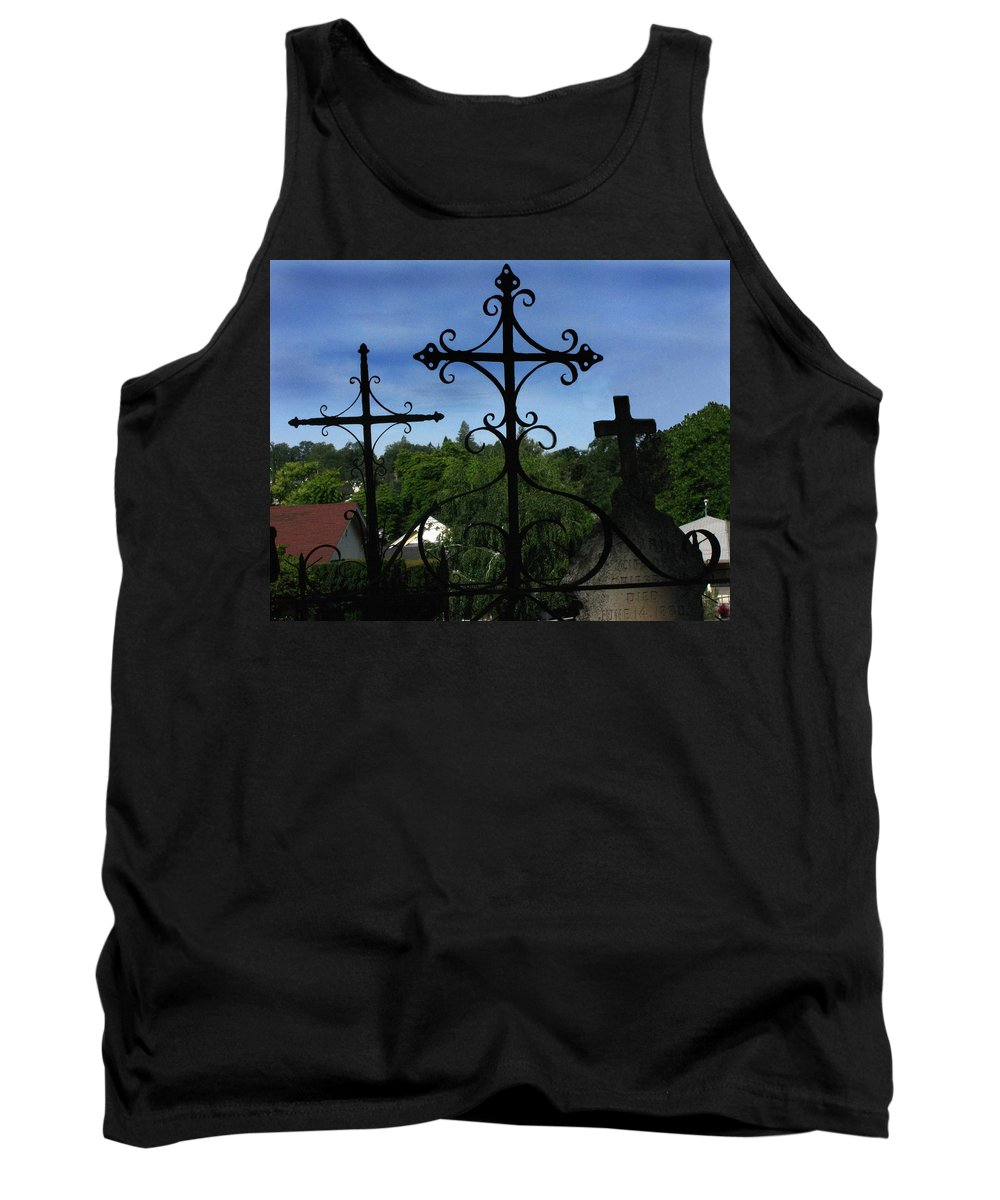 The Trinity Of A Different Kind Tank Top featuring the photograph The Trinity Of A Different Kind by Peter Piatt
