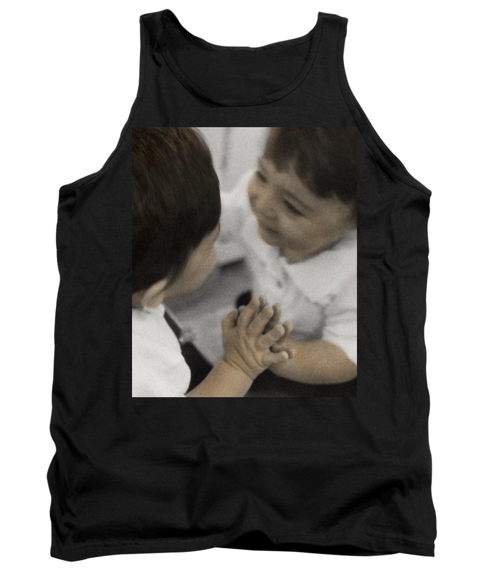 The Twelve Gifts Of Birth Tank Top featuring the photograph The Twelve Gifts Of Birth - Reverence 2 by Jill Reger