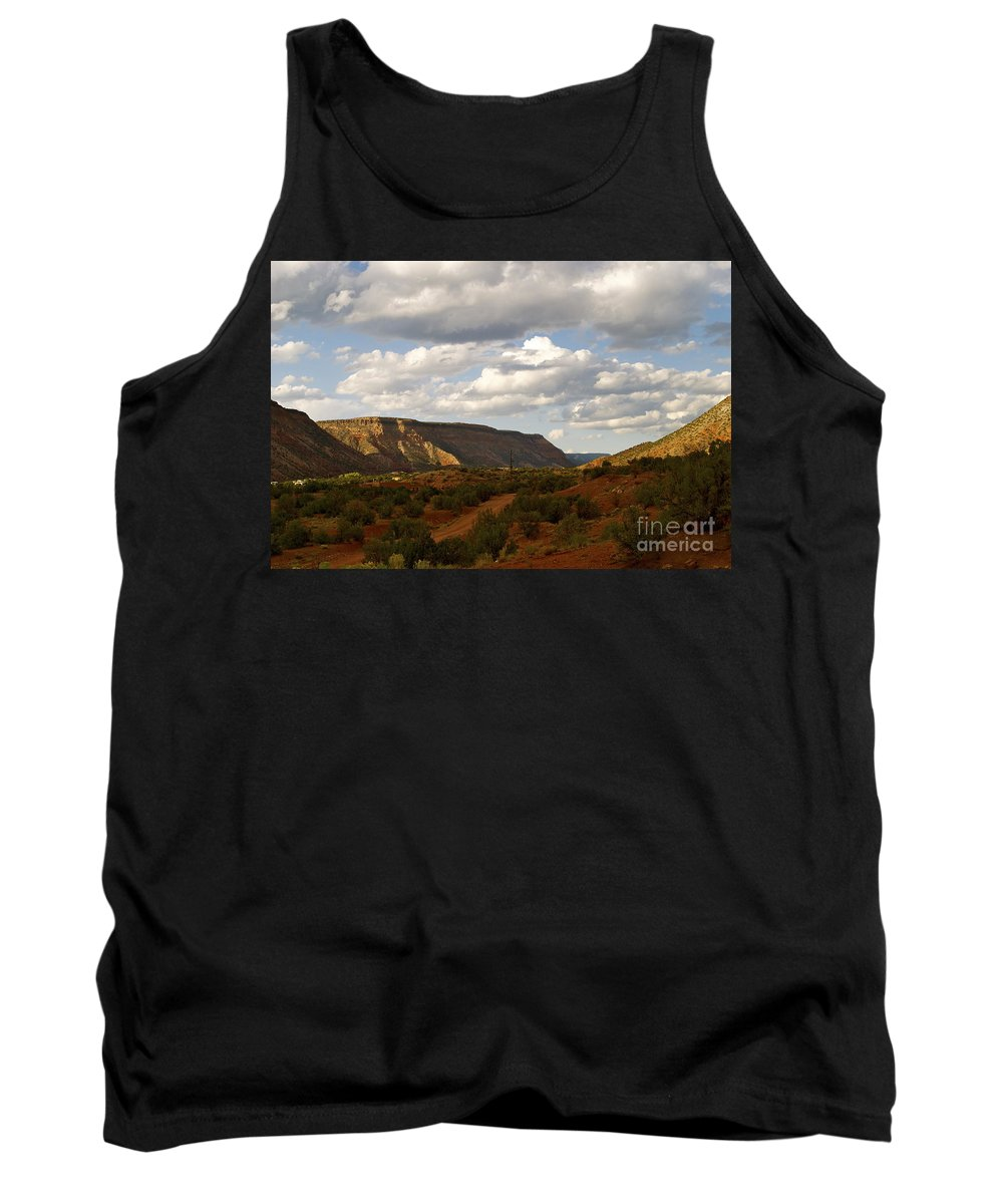 New Mexico Tank Top featuring the photograph The Valley II by Wendy Girard