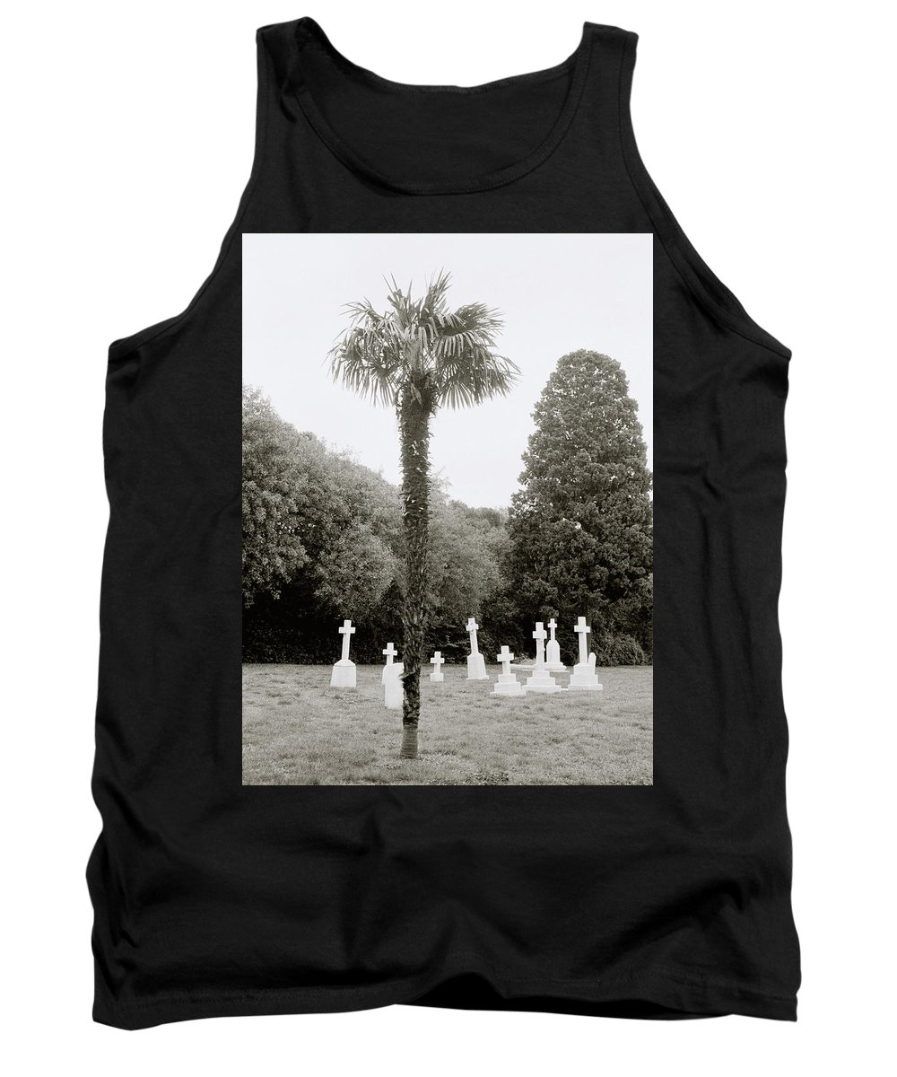 Cemetery Tank Top featuring the photograph The War Cemetery by Shaun Higson