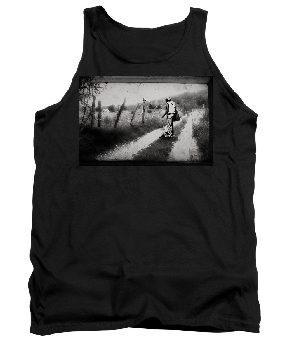North Carolina Tank Top featuring the photograph The Way Of The Crow by Gray Artus