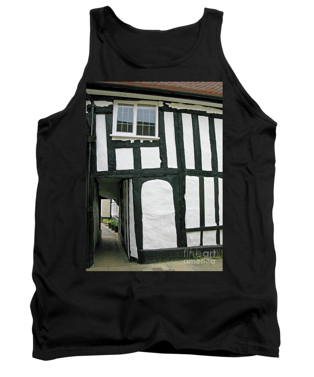 England Tank Top featuring the photograph There Was A Crooked Man by Ann Horn