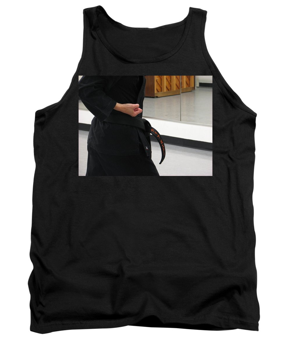 Karate Tank Top featuring the photograph Theresa by Kelly Mezzapelle