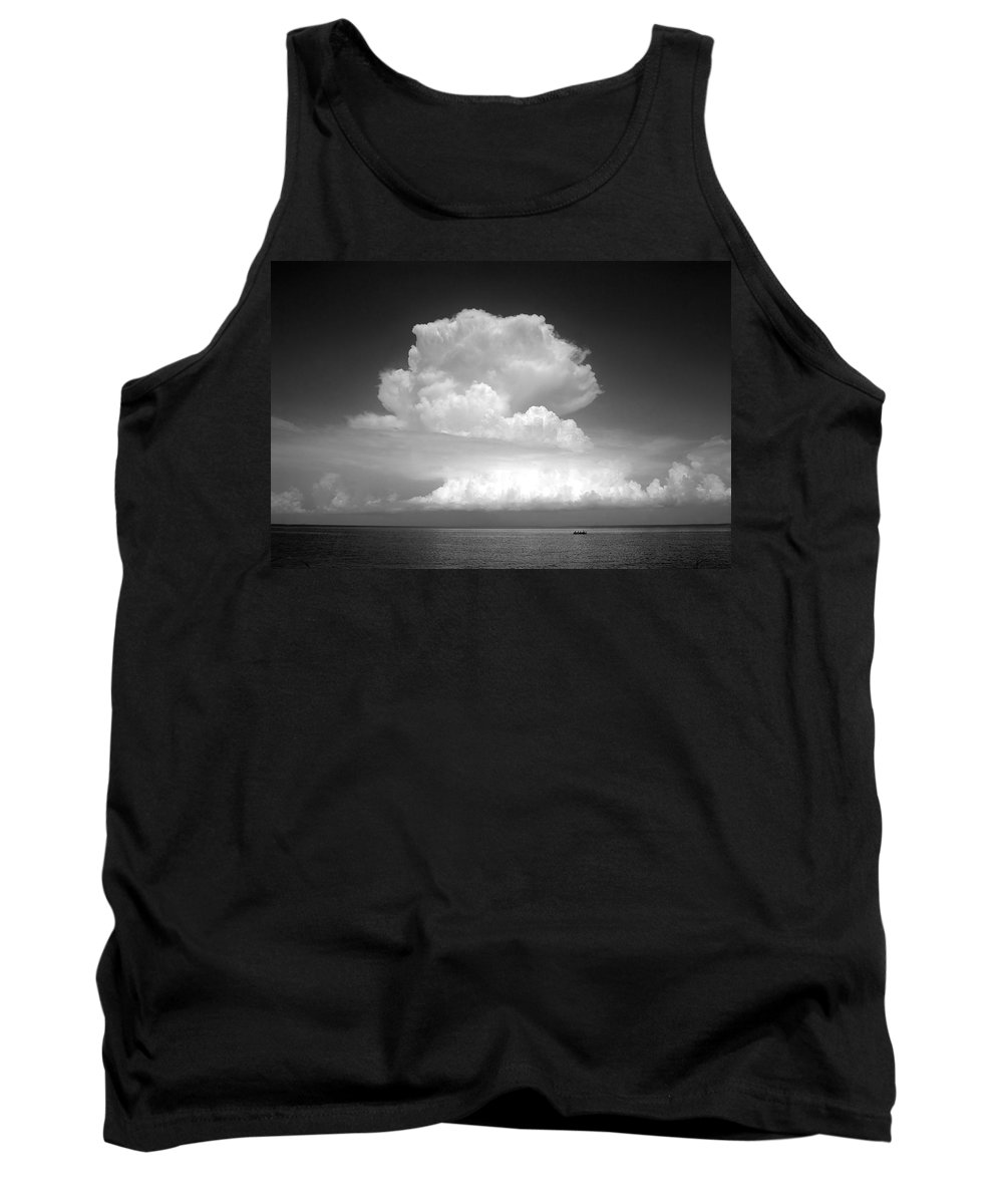 Storm Tank Top featuring the photograph Threatening by David Lee Thompson