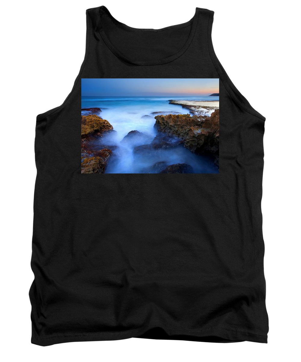 Pennington Bay Tank Top featuring the photograph Tidal Bowl Boil by Mike Dawson