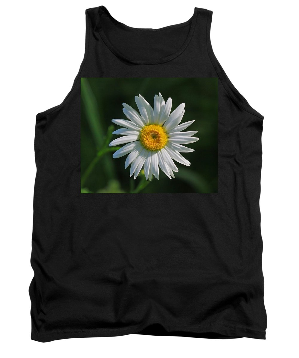 Related Tags: Flowers Artwork Tank Top featuring the photograph Tiny Sunshine by Robert Pearson