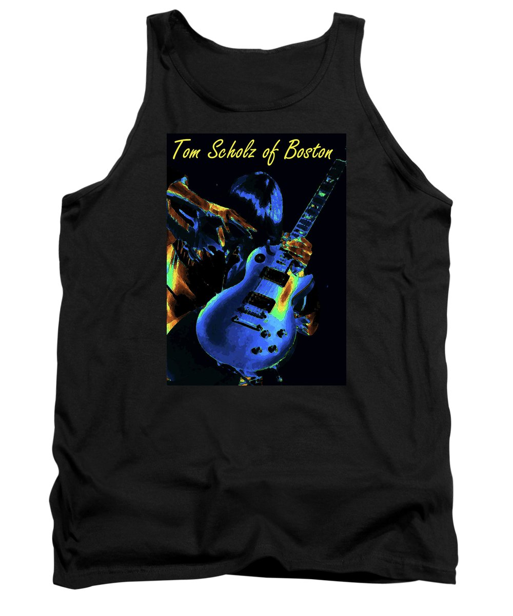 Rock Images Tank Top featuring the photograph Conjuring Magical Sounds by Ben Upham