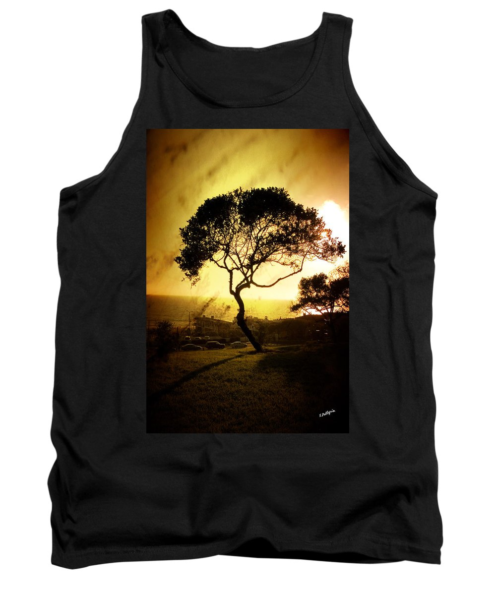 Tree Tank Top featuring the photograph Top Of The Hill by Scott Pellegrin