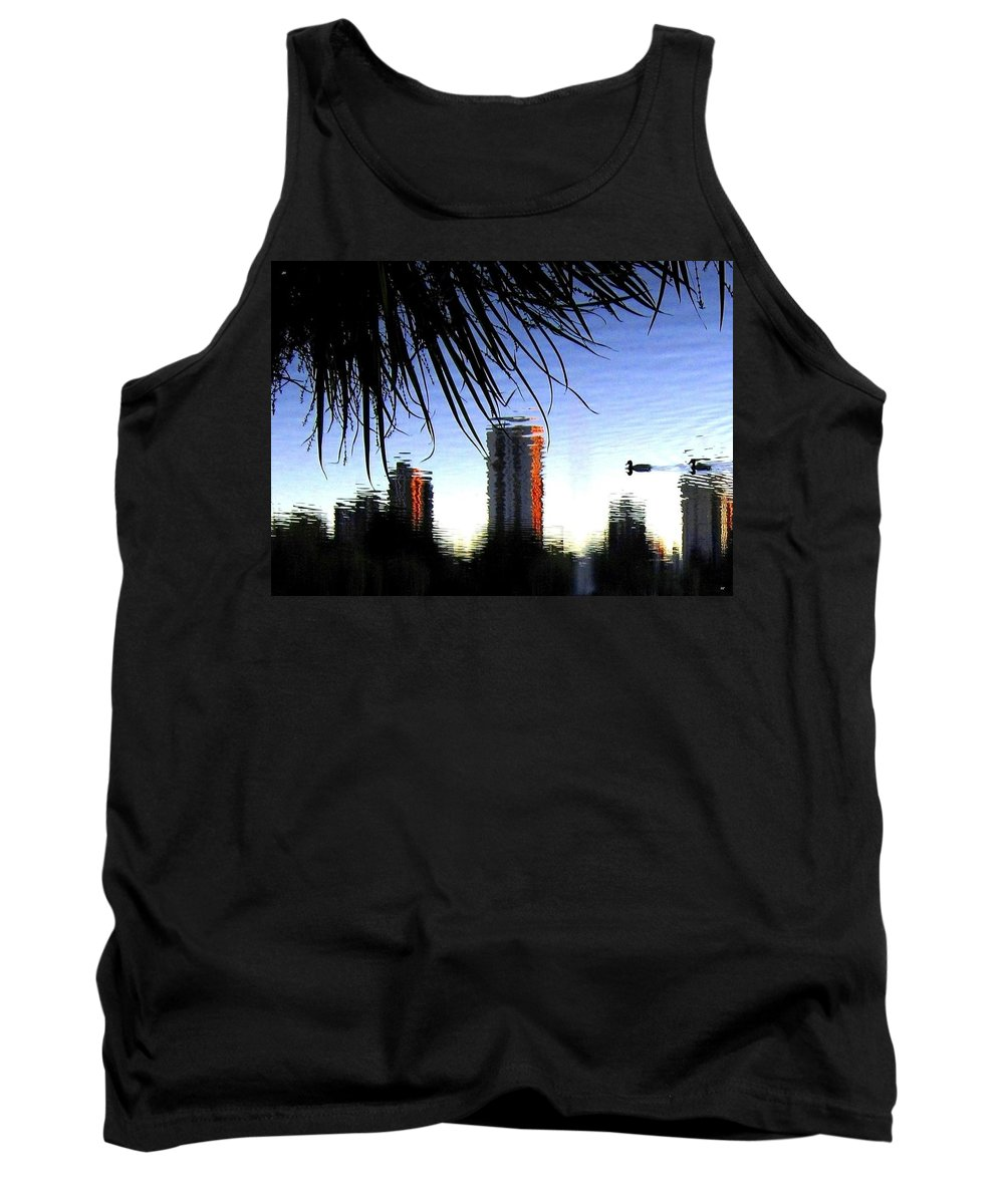 Sunset Tank Top featuring the photograph Topsy-turvy by Will Borden