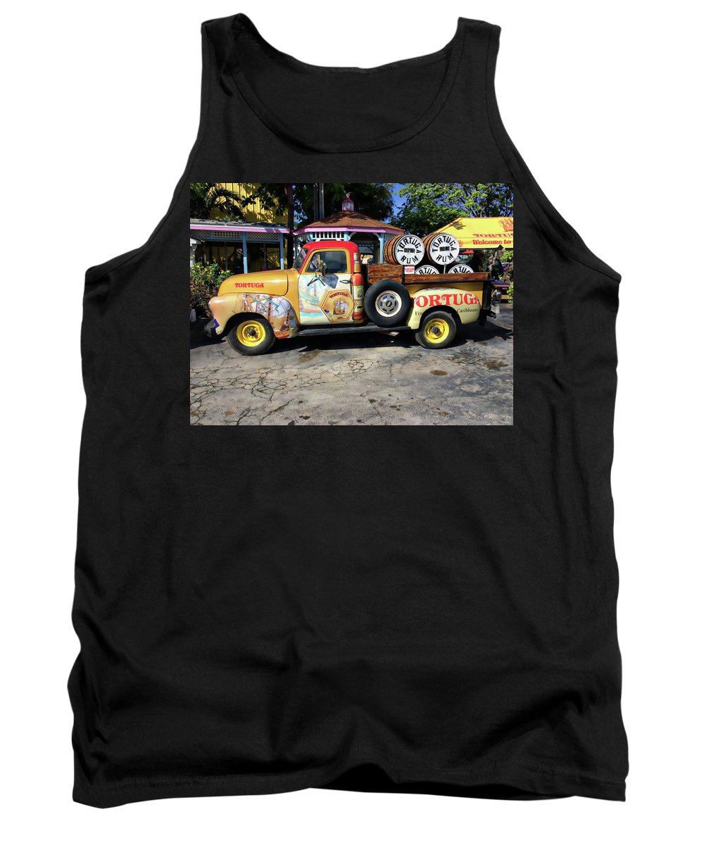Caribbean Tank Top featuring the photograph Tortuga Rum Factory by Anthony Dezenzio