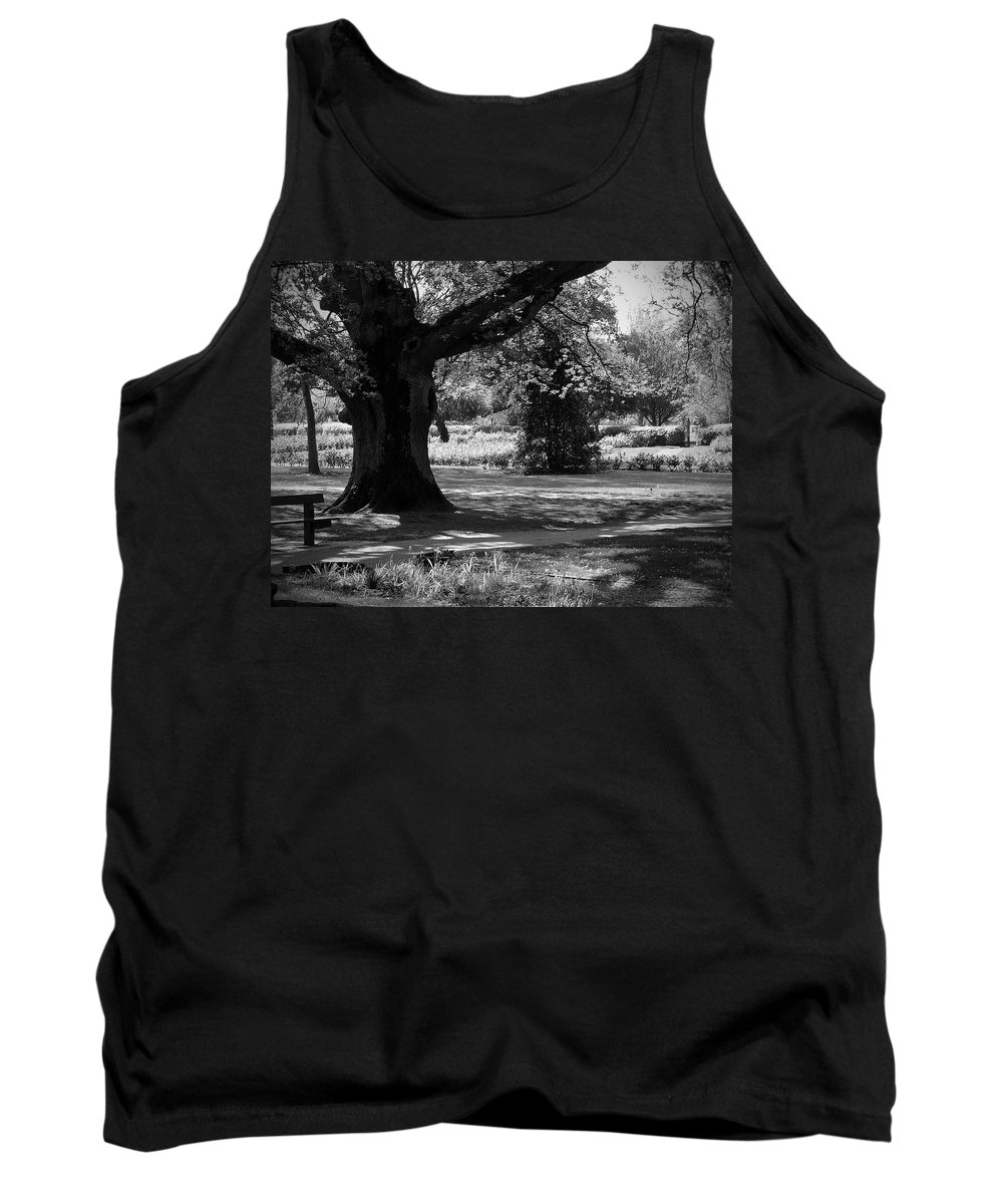 Irish Tank Top featuring the photograph Tralee Town Park Ireland by Teresa Mucha