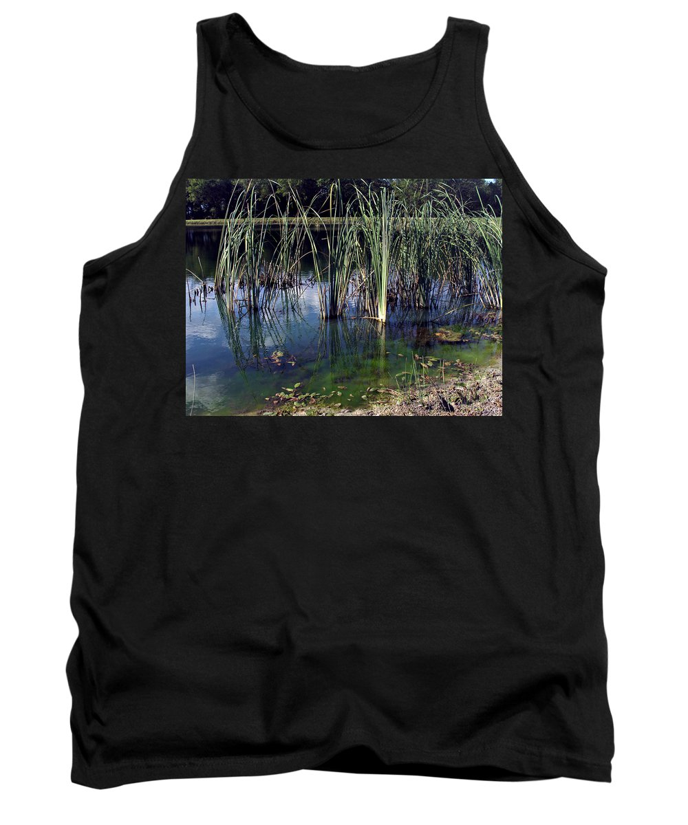 Carefree Tank Top featuring the photograph Tranquility by Angelina Vick