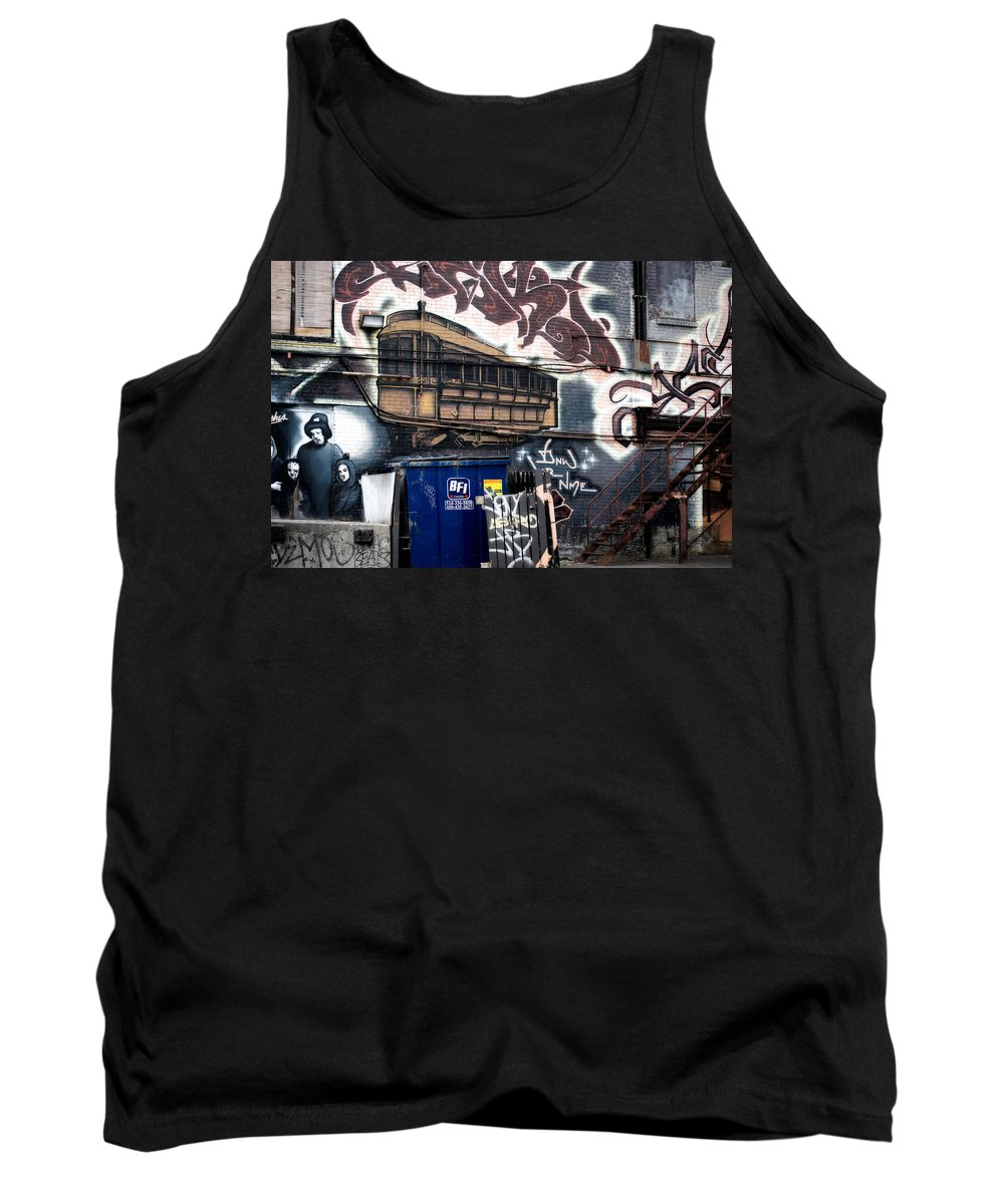 Interior Design Tank Top featuring the photograph Trashed by Lisa Knechtel
