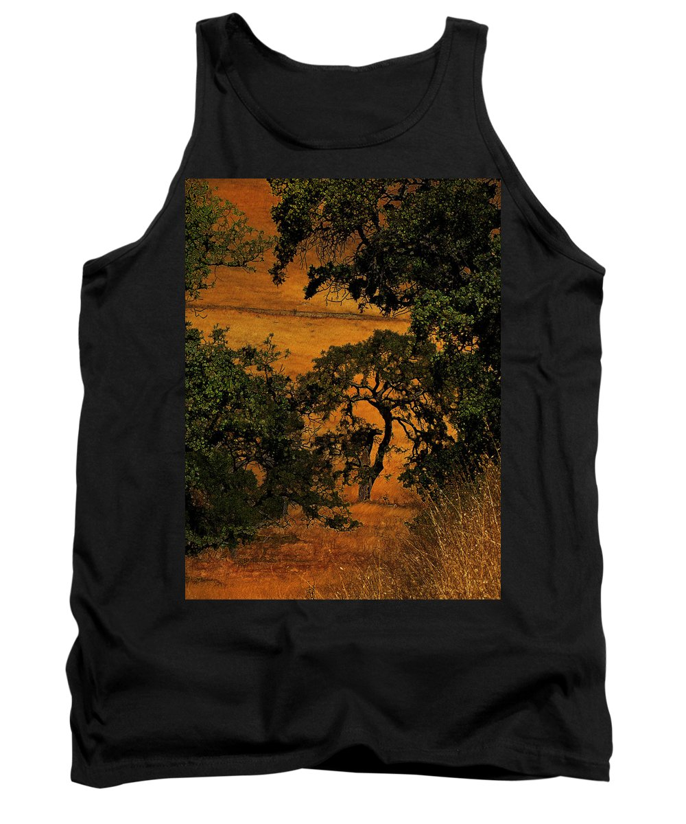 Trees Tank Top featuring the photograph Tree Formation by Karen W Meyer