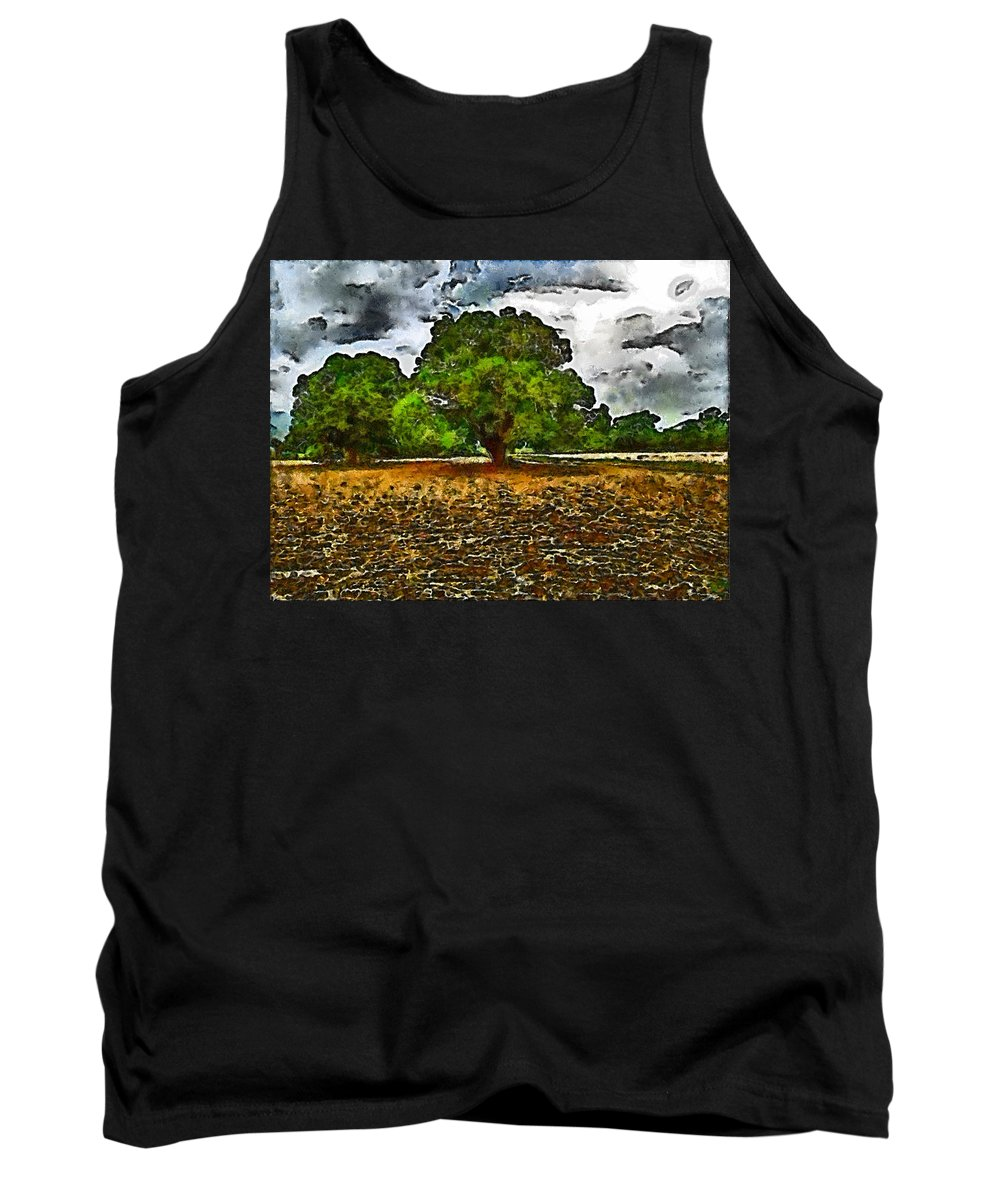 Trees Tank Top featuring the photograph Trees by Galeria Trompiz