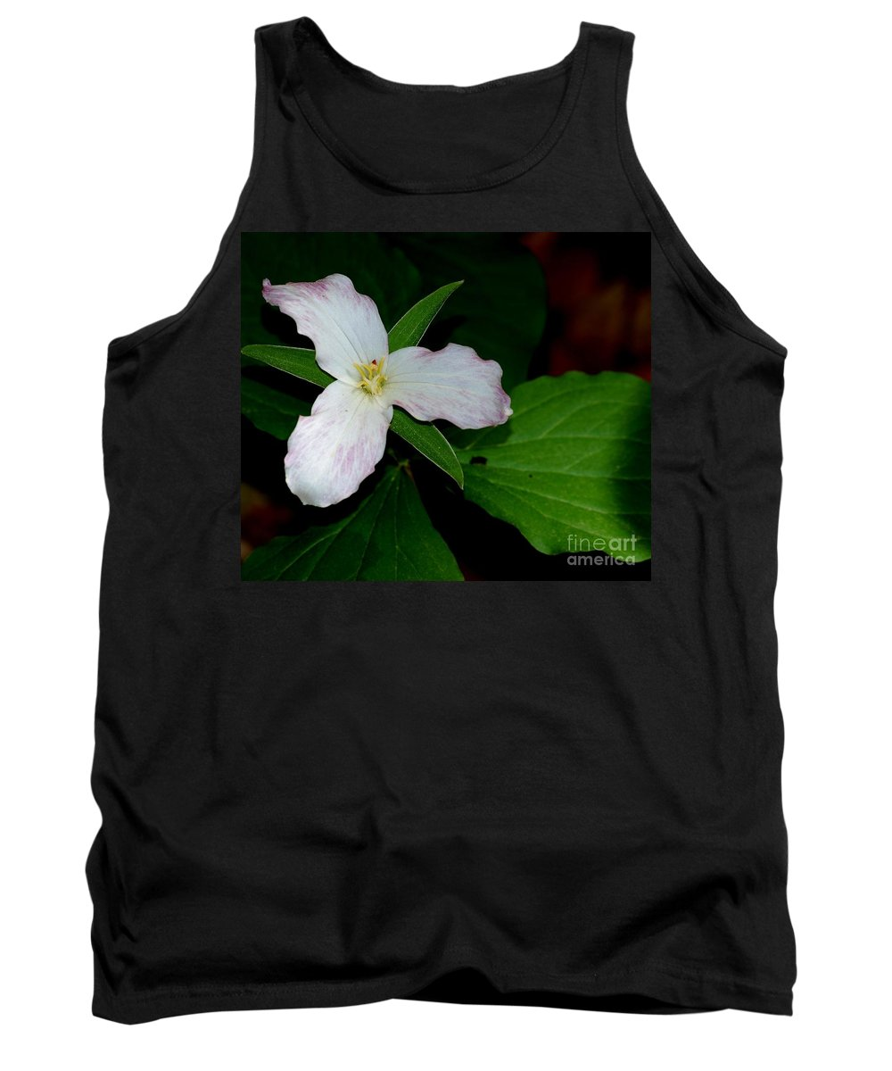 Landscape Tank Top featuring the photograph Trillium by David Lane