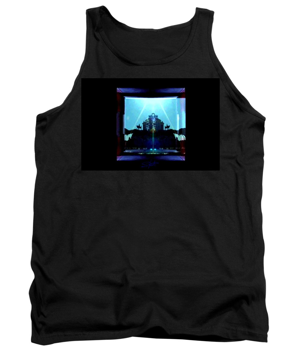 Dream Tank Top featuring the photograph Triumph In Rome by Charles Stuart