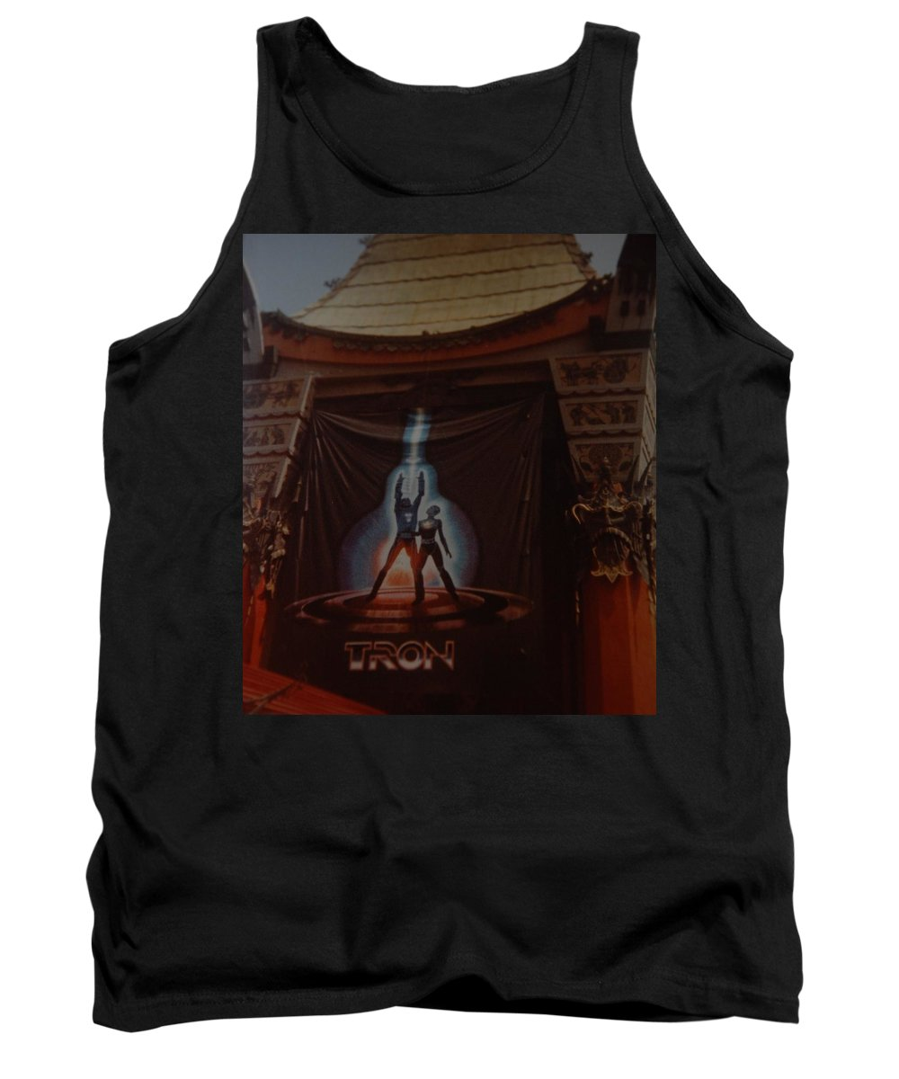 Grumanns Chinese Theater Tank Top featuring the photograph Tron by Rob Hans