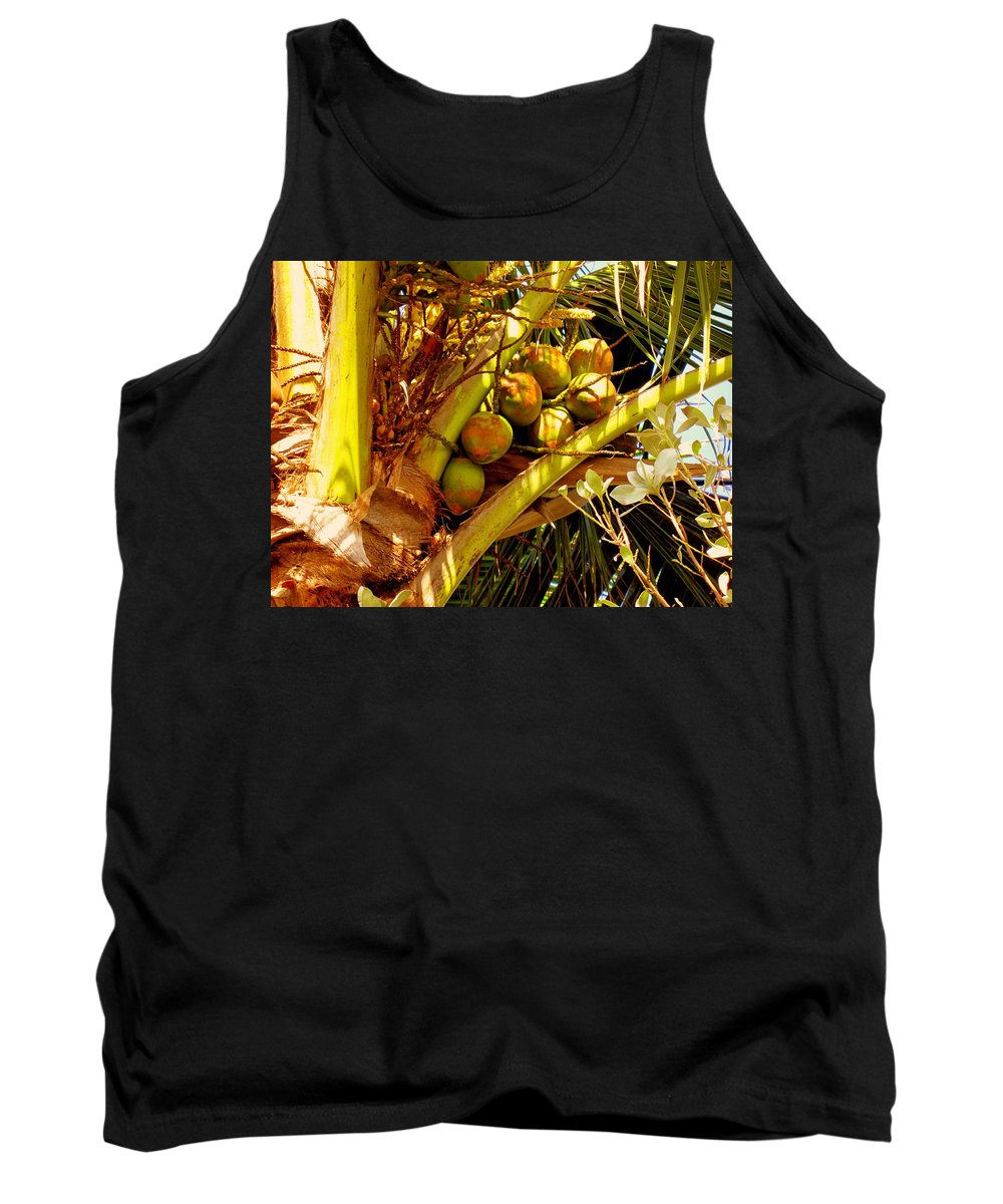 Coconuts Tank Top featuring the photograph Tropical Dreams 1 by Susanne Van Hulst
