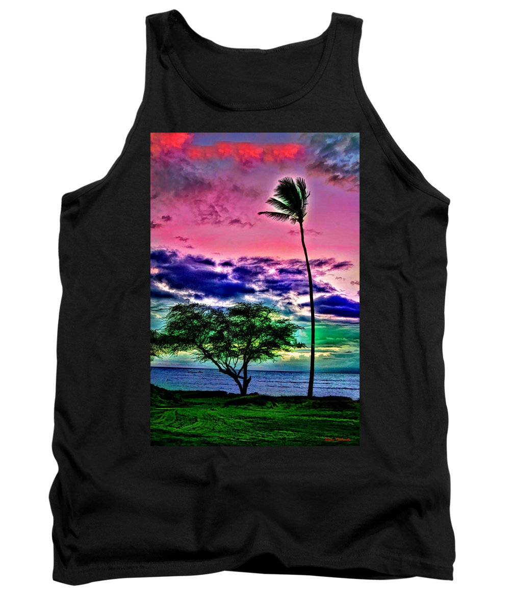 Tank Top featuring the photograph Tropical Trees by Blake Richards