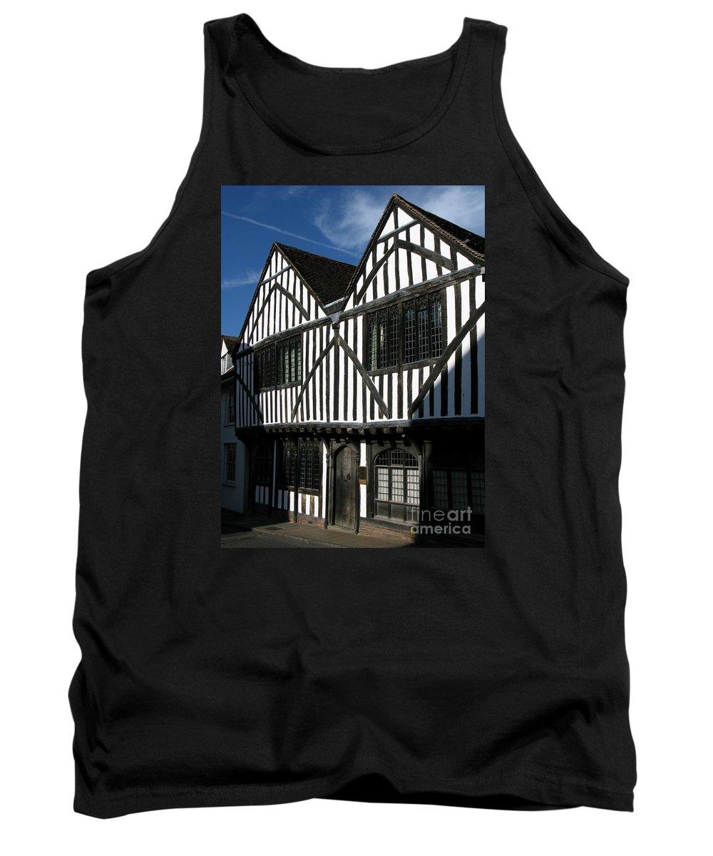 Tudor Tank Top featuring the photograph Tudor Timber by Ann Horn