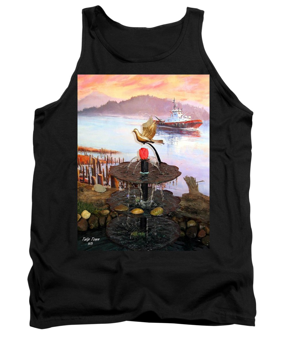 Agriculture Tank Top featuring the photograph Tulip Town 20 by Will Borden