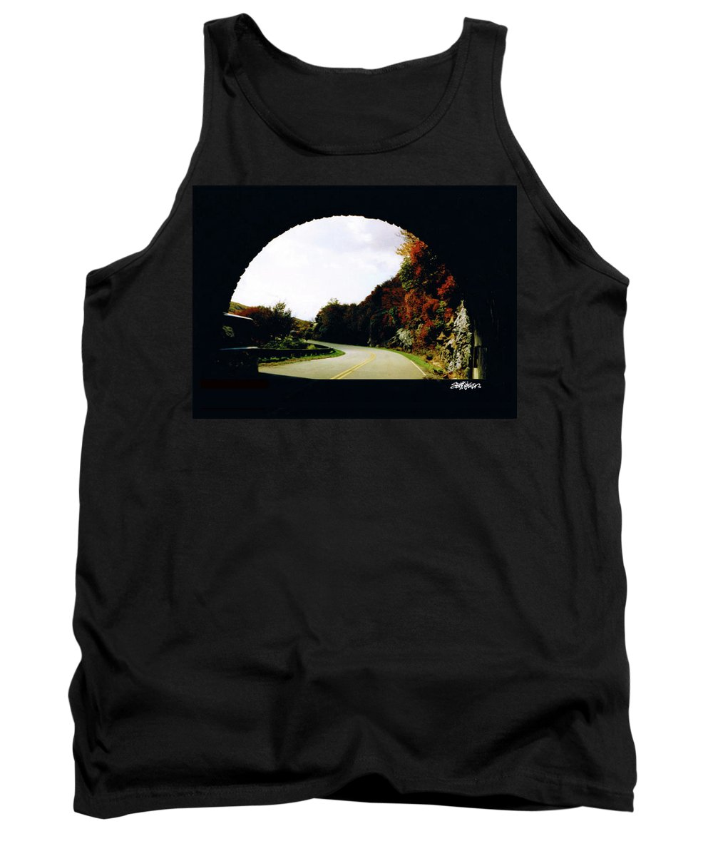 Tunnel Vision Tank Top featuring the photograph Tunnel Vision by Seth Weaver