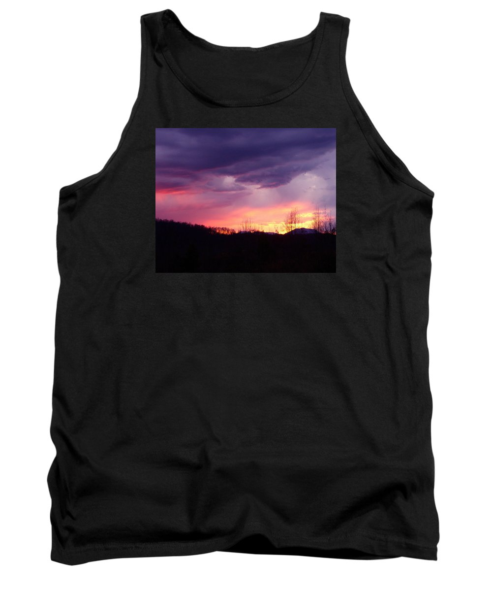 Tank Top featuring the photograph Twilight by Krystal Riffice