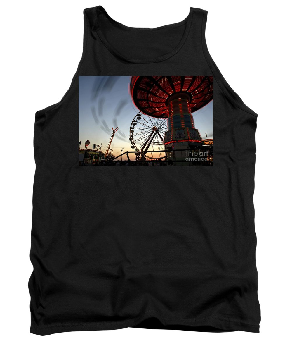 Fair Tank Top featuring the photograph Twirling Away by David Lee Thompson