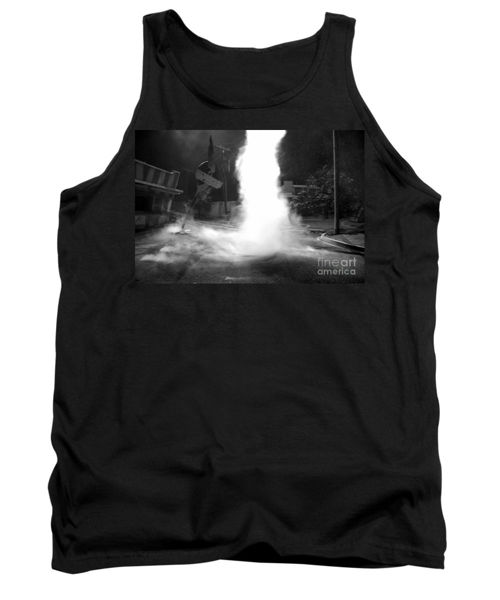 Twister Tank Top featuring the photograph Twister In The Neighborhood by David Lee Thompson