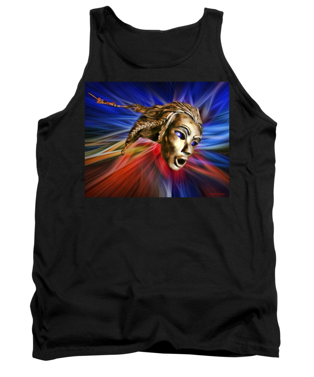 Tank Top featuring the photograph Two Faced by Blake Richards