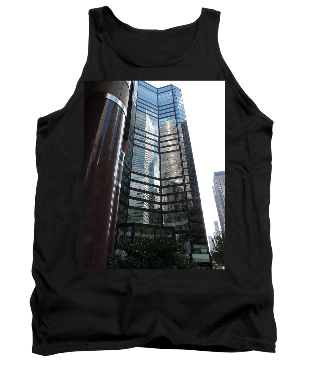 Reflection Tank Top featuring the photograph Two In One by Valerie Ornstein