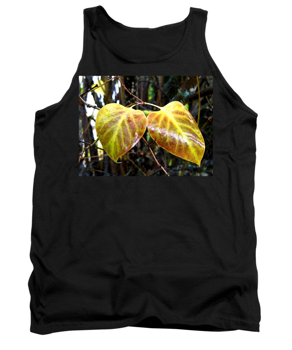 Autumn Tank Top featuring the photograph Two Of A Kind by Will Borden