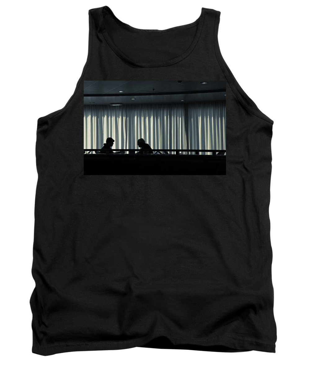 Couple Tank Top featuring the photograph Two by Silvia Ganora