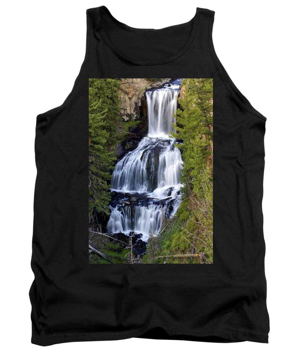Udine Falls Tank Top featuring the photograph Udine Falls by Marty Koch