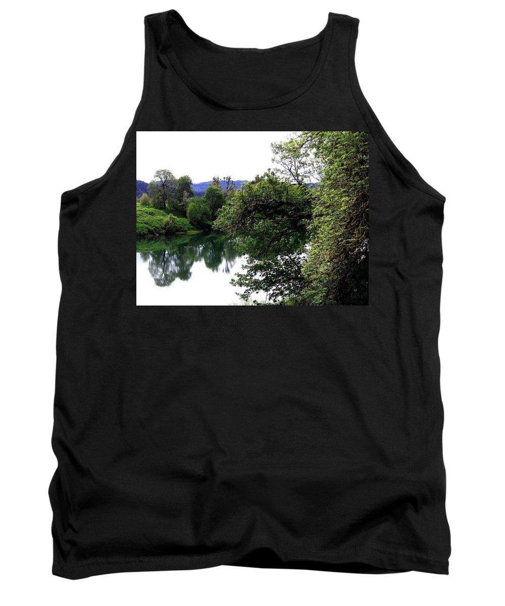 Umpqua River Tank Top featuring the photograph Umpqua River by Will Borden
