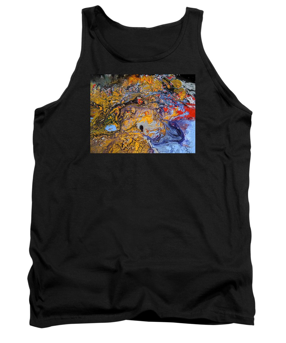 Tank Top featuring the painting Untitled 4 by Cesar Rodrigues