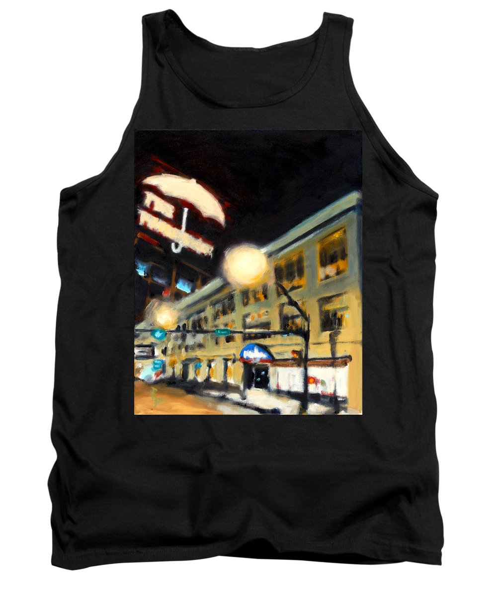 Rob Reeves Tank Top featuring the painting Untitled by Robert Reeves