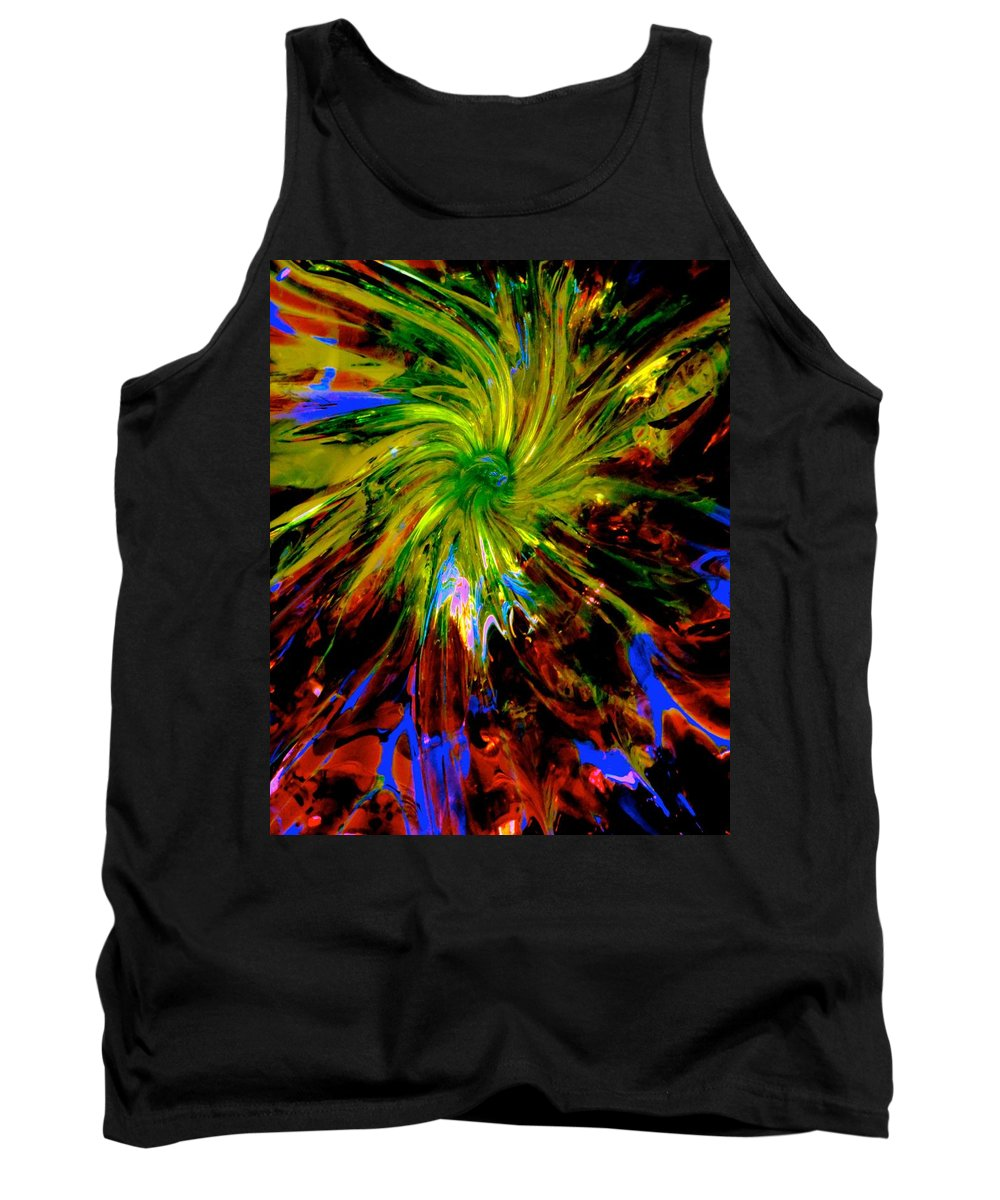 Space Tank Top featuring the photograph Upon The Gathering by Tim G Ross