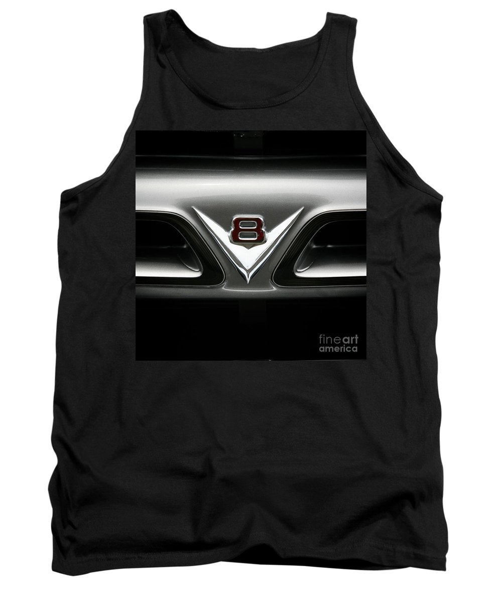 V8 Tank Top featuring the photograph V8 by Chris Dutton